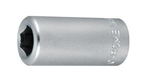 KING TONY 2141 ИНСТРУМ. ШТ.   Переходник Битодержат. 1/4''x бита 6,27mm  1/4''(квадр.) x бита 6,27mm  с пружинной пластиной