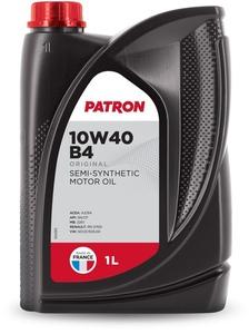 PATRON 10W40 B4 1L ORIGINAL Масло авто моторн.   10W40 B4 ORIGINAL 1L   П/СИНТ
