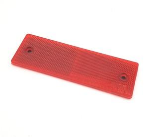 КИТАЙ K23107 Отражатель прямоугольный (14.8см*4,8см)  Красный
