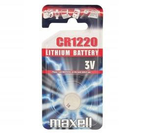 MAXELL CR1220 Батарейка   Для часов LITHIUM CR1220   3V (в блист. 1шт.)