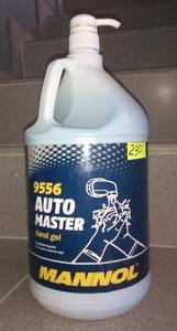 MANNOL 9556 Очиститель   Рук MANNOL с дозатором  4000ml  HAND GEL