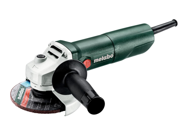 METABO W650-125 Оборуд. электро   УШМ (болгарка) Угловая шлифмашина (603602010)  650-Вт / 125mm / 11000 об/мин.