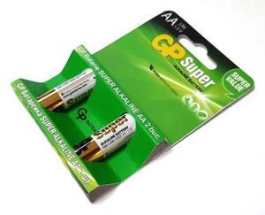 GP 15A U2 Батарейка   Стандартные ALKALINE 15A U2   1.5V 2500 мАч (в упак. 2шт.)