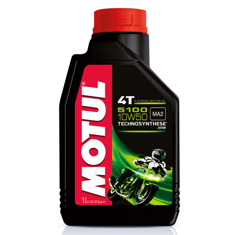 MOTUL non code Масло мото   4-Takt 10W50 5100 1L  П/СИНТ.