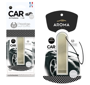AROMA CAR 83206-DP Аромат DROP CONTROL (SILVER)  Подвесной цилиндр