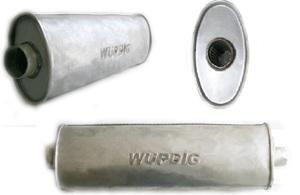WURDIG 88-05 Глушитель   Бочка универс. овал 04.129  сквозной