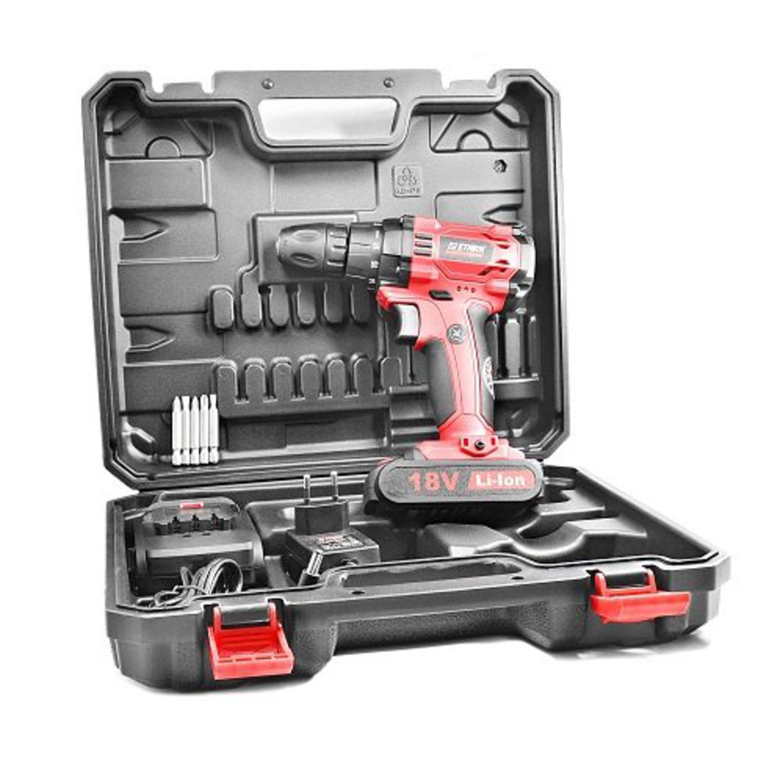 STARK 210018010 Оборуд. электро   Аккумуляторный инструмент Шуруповерт Stark CD18-2 Li-Ion  18.0В / 1.5А/ч / Li-Ion / Патрон 1-10мм