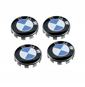 КИТАЙ K14968 Колпачок   На диск BMW  синий без отражат.  D=68mm дорог.
