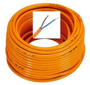 GENERAL CAVI H07BQ-F 2G2,5 ПРОВОД   Питание 12V / 220V СИЛОВОЙ КАБЕЛЬ (Медь)  Оранжевый, особо прочный 2*2,5мм кв.