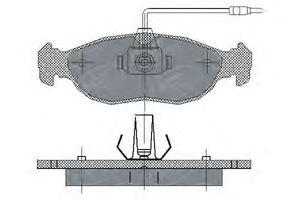 DBB 39300 КОЛОД.ДИСК. OP*AF/VEA / PG*306 / CTR*XS  ПЕР длина 141мм