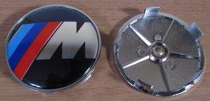 КИТАЙ K14394 Колпачок   На диск BMW  M-SERIA без отражат.  D=63mm