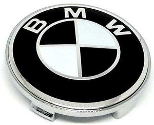 КИТАЙ K14392 Колпачок   На диск BMW  чёрн  без отражат.  D=63mm