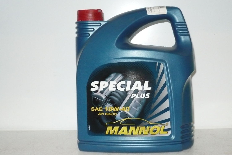 MANNOL SPEC + 5L Масло авто моторн.   10W40 SPECIAL PLUS  5L  Минерал.