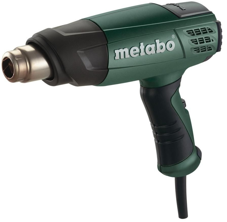 METABO 601650000 Оборуд. электро   Фен технич. Технический фен Metabo H16-500 2-режима.  1600-Вт / 240/450 л/мин / 300/500'C