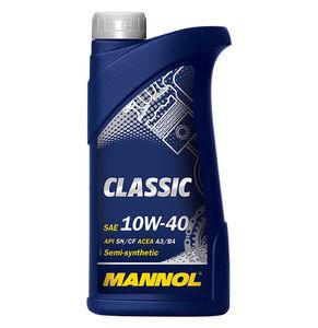 MANNOL CLASS-1L Масло авто моторн.   10W40 CLASSIC  1L  П/СИНТ
