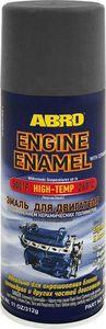 ABRO EE-555-BLK Краска   Аэр. Выс.темпер. д/двиг. hi-temp 260С  Чёрн. Ceramic high-t 260С