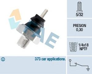 ERA 330005 Датчик   Давл.масла F*TRS -91 1,6-2,0/ES/MD/ -96/SR/SCR 87-  0,2-0,40 bar