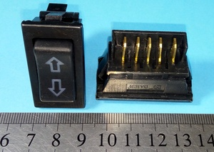DAMMER K9190 Кнопка   Стеклопод. 2х-стор (узк.стрелки)  Б/фикс.