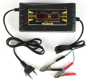КИТАЙ K29180 Зарядн. устр-тво   для авто ЦИФРОВАЯ (АВТОМАТ)  12V