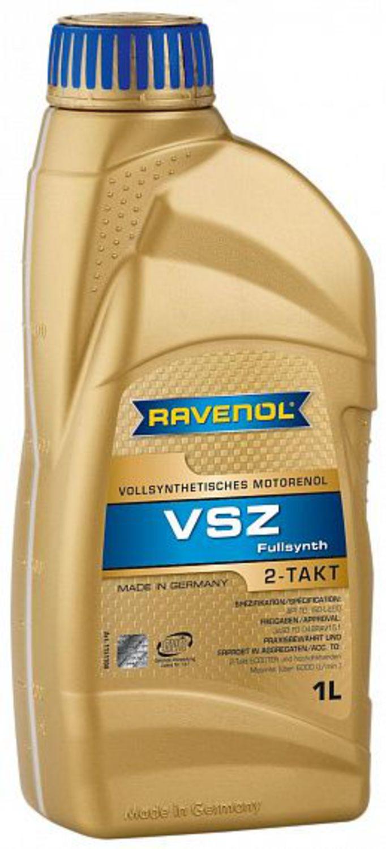 RAVENOL non code Масло мото   2-Takt VSZ   1L  ЛОДОЧН.МОТОРЫ Полностью синтетическое масло для 2-х тактных двигателей мотолодочных моторов. Предназначено для двигателей с раздельной систе мой смазки.