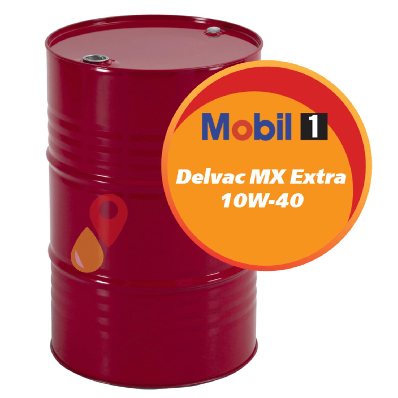 MOBIL non code Масло авто моторн.   10W40 DELVAC MX EXTRA    1L  (208L)  П/СИНТ