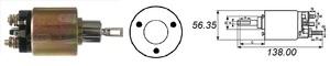 CARGO 131586 РЕЛЕ ВТЯГИВАЮЩЕЕ VW* 1,1/1,3 --98 / OP*CD 1,8 2,0 --91,V  под конт см.ZM573