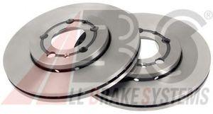 ABS 16880 Диск торм.   Передн. с/в  A* / VW*G4/PL / SK*FB/OC