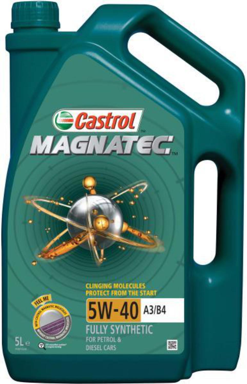 CASTROL MAG B-5L Масло авто моторн.    5W40 MAGNATEC benzin 5L  СИНТ.