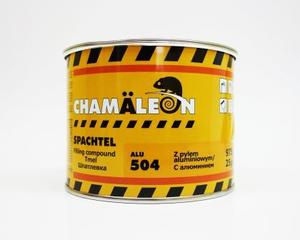 Chamaleon 15045 Шпатлёвка Alu - 0,975 кг.  2-комп. полиэфир, содерж. алюмин.