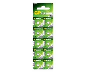 GP 177 U10 Батарейка   Для часов Alkaline Cell 177 U10   3V (в блист. 10шт.)