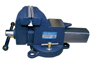 KING TONY 9TZ11-06 Инструм. шт.   Зажим механический Настольные тиски из литой стали 360 °  Ширина