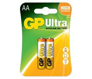 GP 15AU U2 Батарейка   Стандартные ALKALINE 15AU U2   1.5V 3100 мАч (в блист. 2шт.)