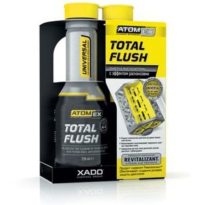 XADO XA 40613 Очиститель   Масл. сист. Двигат.(внут) до 5л масл.сист.  XADO ATOMEX TOTAL FLUSH