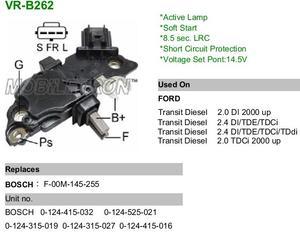 VR VR-RB262 РЕЛЕ ЗАРЯДКИ F*TRS 00-  более слаб. генерат.