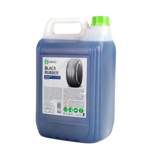 GRASS 125231 ПОЛИРОЛЬ   Автошины Чернитель (блеск)  Black rubber
