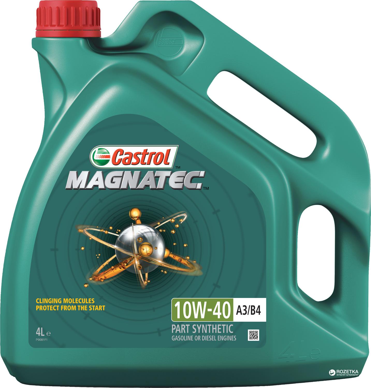 CASTROL MAG B-4L Масло авто моторн.   10W40 MAGNATEC univers 4L  A3/B4  П/СИНТ