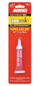 ABRO TL-371 Клей   Фиксатор резьбы permanent  6ml  красный -59С +149С
