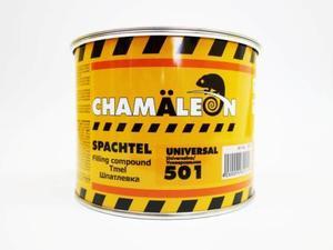 Chamaleon 15015 Шпатлёвка Uni - 0,975 кг.  2-комп. среднезерн.полиэфир.