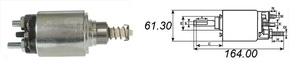 AS-PL SS0003 РЕЛЕ ВТЯГИВАЮЩЕЕ F*TRS -97 / MB*123-207-209D  OM616-617  12V BOSHC