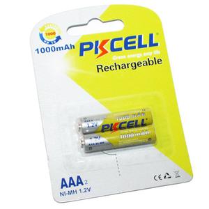 PKCELL 1000-2B Батарейка   Аккумуляторная 100AAA U2  NiMh (500 цикл. заряд/разр.)   1.2V 1000 мАч (в блист. 2шт.)