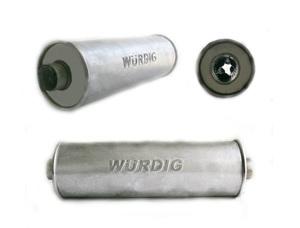 WURDIG 88-10 Глушитель   Бочка универс. круглая  сквозной