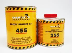 Chamaleon 14554 Грунт   2-х комп. Эпокс. NEW 1,0л+отв.255, 0,5л.  2-комп. улучш. адгез.