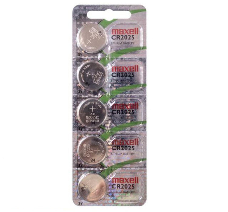 MAXELL CR2025 Батарейка   Литиевая LITHIUM CR2025   3V (в блист. 5шт.)