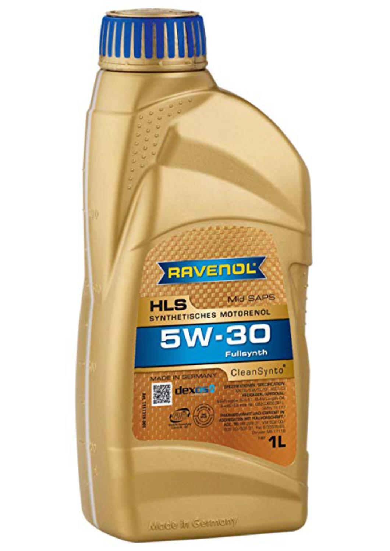 RAVENOL HLS-1L Масло авто моторн.    5W30 HLS  1L  СИНТ.