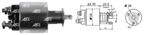 AS-PL SS2012 Реле втягивающее OP*AG 1,7TD 98-/CRC 1,7TD 00-