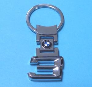 КИТАЙ K14439 Брелок   Никель BMW 3  Знак