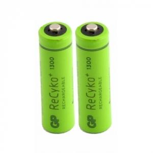 GP 65AAAHCE Батарейка   Аккумуляторная 65AAAHCE  ReCyko+ (1000 цикл. заряд/разр.)   1.2V 65 мАч (в блист. 2шт.)