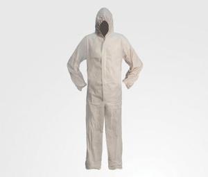 Chamaleon 80029 Спецодежда   Комбинизон Защитный (бумажный белый) XL  65% полипроп, 35% микропор.плёнка ПЭТ