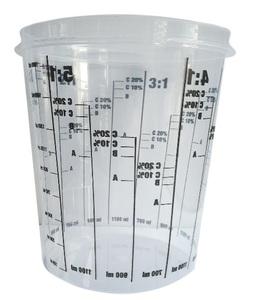 Chamaleon 48640 Тара   Мерная Посуда 2300мл.+крышка 48644  Одноразовые чашки