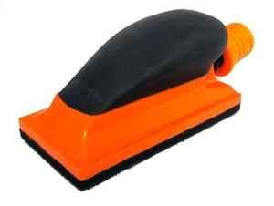 PROGRESS 6712 Инструм. шт.   Малярный Брусок шлифовальный, на липучке, с пылеотвод.  Для ручн. шлиф 70*125мм